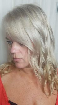 Icy Blonde Platinum Haircolor