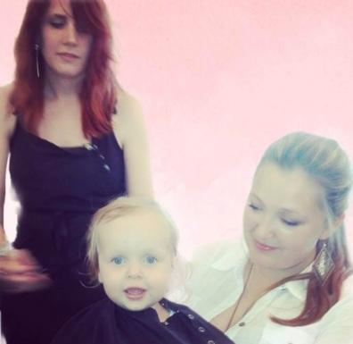 Marlee's first haircut
